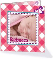 Foto-geboortekaartje