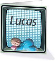Geboortekaartjes voorbeelden Lucas